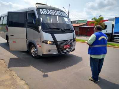 Ação de fiscalização no município de Araguatins