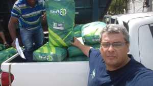 Ruraltins recebe doação de sementes de capim da Empresa Sementes Grão Fértil