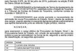 Diário Oficial do Estado - Edição 03/01/2020