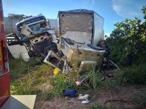 Acidente com vítima fatal teve atendimento do Corpo de Bombeiros Militar na região Sul do estado