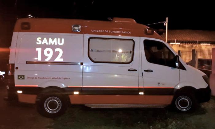 Veículo do SAMU recuperado pela Polícia Militar