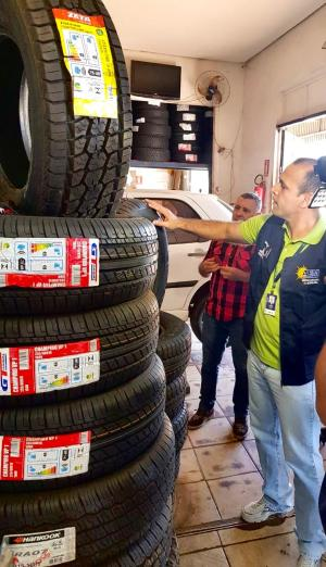 Metrologia Estadual orienta sobre cuidados com os pneus
