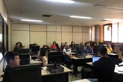 Mais de 800 servidores receberam treinamentos durante o ano de 2019