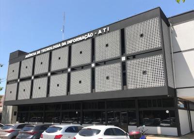 Em 2019 o prédio da Agência de Tecnologia do Tocantins passou por uma reforma em sua estrutura