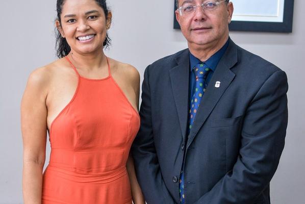 Cineasta Eva Pereira agradeceu o apoio do Governo durante encontro com o secretário Tom Lyra