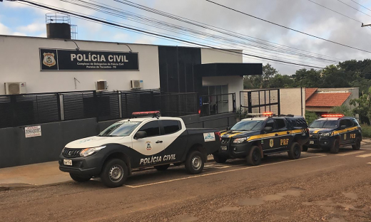 Suspeitos foram ouvidos e encaminhados para a Casa de Prisão Provisória de Paraíso do Tocantins