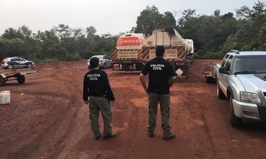 Ação foi realizada pelas Polícias Civil e Rodoviária Federal