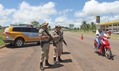 As equipes estão com ponto base na Ponte Fernando Henrique Cardoso e fazendo fiscalização volante na TO-010, TO-020 e na TO-030