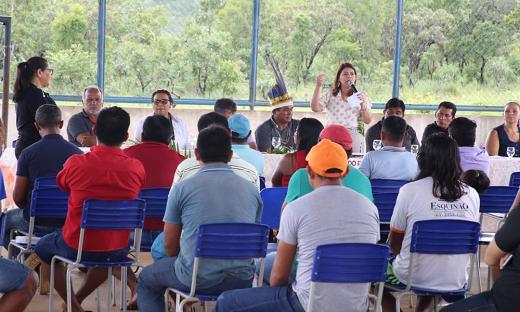 Em consulta pública, comunidade escolar do Centro de Ensino Médio Indígena Xerente aprova a adesão ao Programa Jovem em Ação