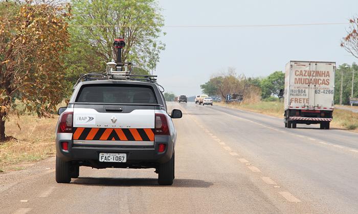 Veículo de pesquisa percorreu todas as rodovias estaduais pavimentadas