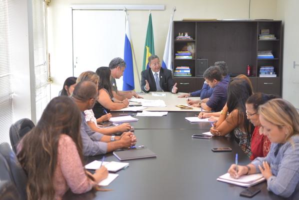 No encontro, foi discutido ainda uma maior integração nas ações entre Adetuc e Naturatins no Jalapão