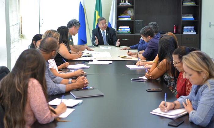 No encontro, foi discutida a integração nas ações entre Adetuc e Naturatins no Jalapão
