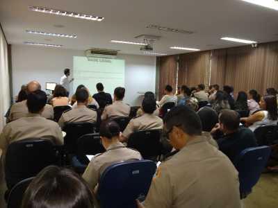 Militares participam do segundo dia de capacitação