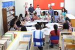 Rodas de leituras promove conversas e interpretações literárias entre servidores, estudantes e docentes