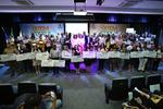 No lançamento do Selo 'Quem Educa, Faz!', profissionais da educação receberam homenagens. Marcio Vieira/Governo do Tocantins