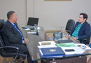 Secretário discute com presidente do CRA forma de incentivar o empreendedorismo no Estado