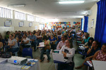 Formação com diretores escolares e coordenadores pedagógicos em Paraíso