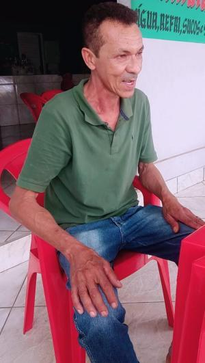 Euflasino Barbosa Ribeiro, 60 anos, foi visto em um bar pela última vez