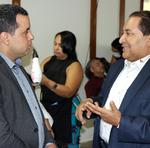 O secretário da Setas, José Messias Araújo, esteve presente