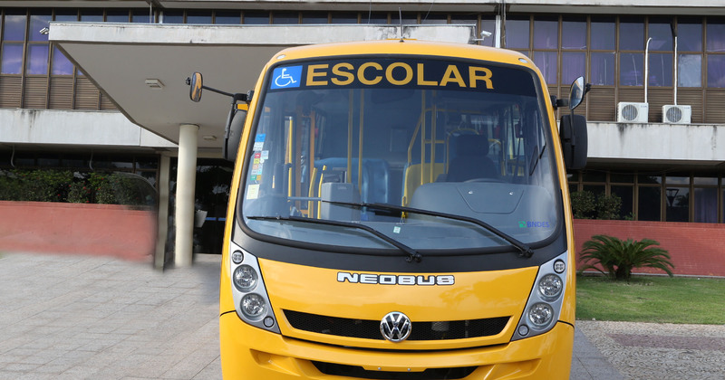 O Governo repassou mais de R$ 11,5 milhões aos municípios para o transporte escolar
