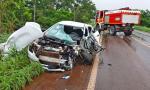 Motorista do veículo foi socorrido pelo Corpo de Bombeiros Militar e levado para o Hospital Geral de Palmas