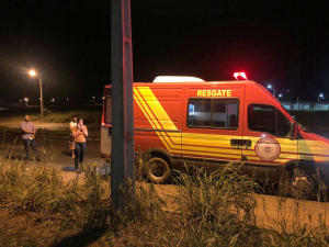 Unidade de Resgate do Corpo de Bombeiros Militar socorreu as vítimas do acidente em Araguaína