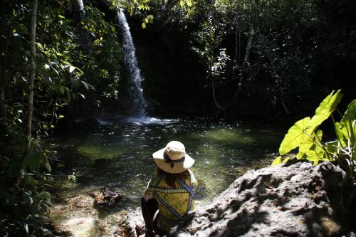 A Cachoeira das Araras fica em São Félix do Tocantins