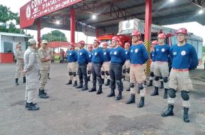 Turma do curso de APH-B atende bombeiros militares e servidores da Seciju e Polícia Militar