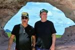 A Pedra Furada, em Ponte Alta, foi a primeira parada da comitiva liderada por Mauro Carlesse e Tom Lyra