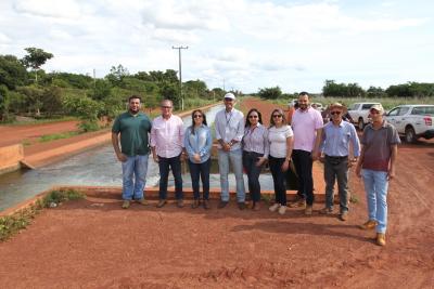 A visita permitiu que fossem identificadas potencialidades de interesse da sociedade, do governo e  de irrigantes do projeto