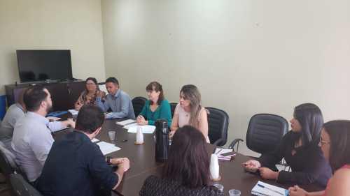 Equipe da Junta Médica reúne com RH's da Educação e Saúde