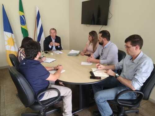 reunião aconteceu na sede da Secad em Palmas