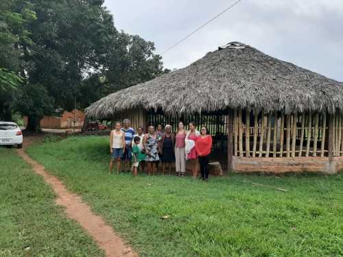Comunidade de Barra do Aroeira também recebeu a ação desta semana