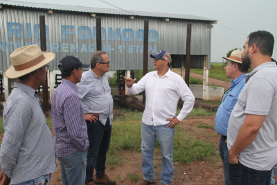 Produtores falaram sobre as potencialidades da cadeia produtiva da bacia do Rio Formoso.
