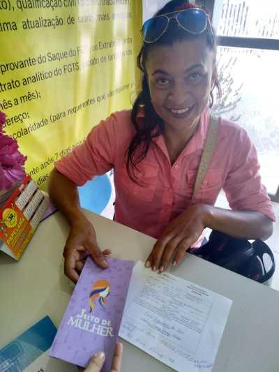 Foto 2 -Eliane Cerqueira da Silva se inscreveu no Jeito de Mulher (Arquivo).jpeg