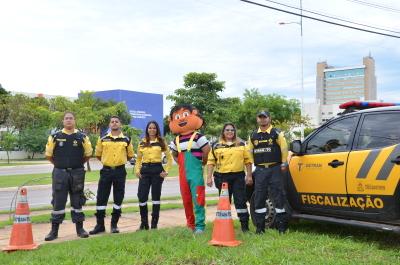 Equipe de Fiscalização no Trânsito e Educação para o Trânsito.
