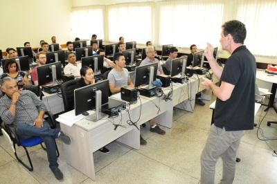 Estão sendo capacitados técnicos que compõe a Comissão Estadual de Cartografia do Tocantins