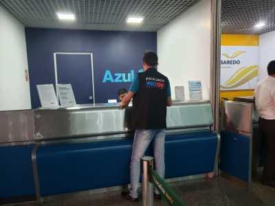Empresa aérea Azul é autuada pelo Procon Tocantins por falta de informações sobre cancelamento de voo