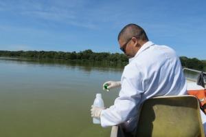 O Naturatins, contou com a parceria da  Agência Tocantinense de Saneamento, que realizou a coleta de amostras de água