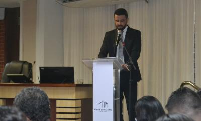 O secretário da Seciju ressaltou a sua gratidão quanto a cooperação de todos os parceiros envolvidos