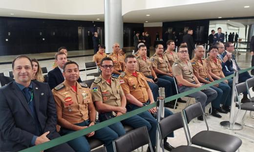 Evento ocorreu no Ministério do Desenvolvimento Regional, reunindo os CBMs de sete estados, entre eles o Tocantins