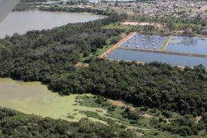 A vistoria também aconteceu em pontos de lançamento da ETE Sul (Aureny-Bertaville)