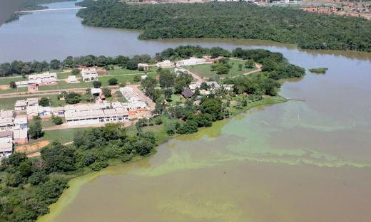 Área do Ribeirão Taquaruçu, nas proximidades do setor Bertaville