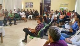 O encontro teve como finalidade repassar aos participantes os serviços prestados pelo órgão ambiental