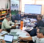Secretário do Meio Ambiente e Recursos Hídricos, Renato Jayme, participou de reunião organizada pelo GCF