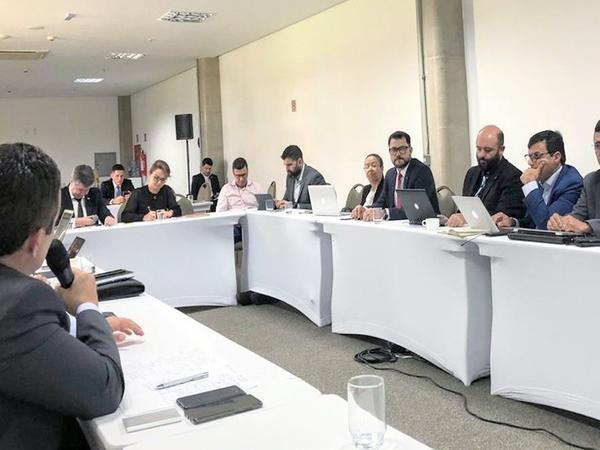 Durante a reunião foram apresentados dados de alertas de desmatamento da Amazônia Legal no mês de janeiro 2020