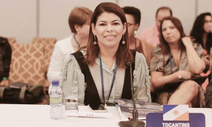Esta é a segunda vez que Adriana assume uma cadeira na vice-presidência do Conselho