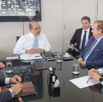 A primeira reunião sobre a vinda do BRB para o Tocantins ocorreu no último dia 6 de fevereiro, quando o governador Mauro Carlesse esteve em Brasília para debater o assunto