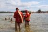 Bombeiros militares recomendam banhos em locais com profundidade segura
