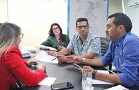 Reunião tratou de ações para melhorias de estradas vicinais na região rural de Palmas